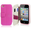 Credit Card holder wallet case for iPhone 4s phone wallet leather case