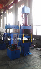 100t On Pressure Type Automatic Light Control Press / Rubber Plate Vulcanizing Machine