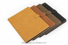 Matte Book Wallet Leather Case For iPad Air