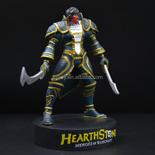 custom game character warrior figure resin