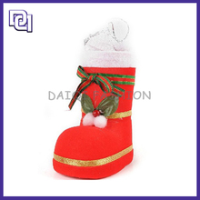 Newest Fashion Christmas Decoration,Cute Warm Christmas Boots ,Kids Christmas Party Dresses Boots