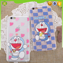 2016 4.7 inch Doraemon case phone supplier for i phone 6S case