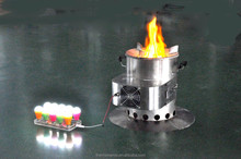 Wood pellet cooking stove with a 10 watt thermoelectric generator