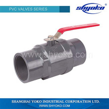 TWO PIECES BALL VALVE (SOCKET/THREAD)