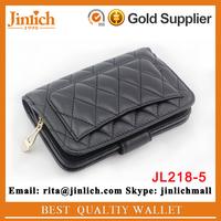 Top grade lambskin durable wallet small multifunctional clutch purse
