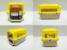 Mini Plastic dog cage, dog carrier, dog flight kennel for small size