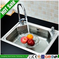 Deep double bowl kitchen nexstyle untility sink