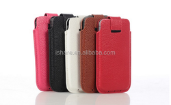PU Leather Loop Pouch Pocket Bag Case for iphone 5