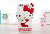 low price Frosted hello kitty bling bling diamond case for iphone 4 for lg