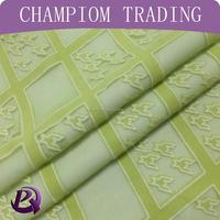 2015 China latest dress designs of knit jacquard fabric for dress