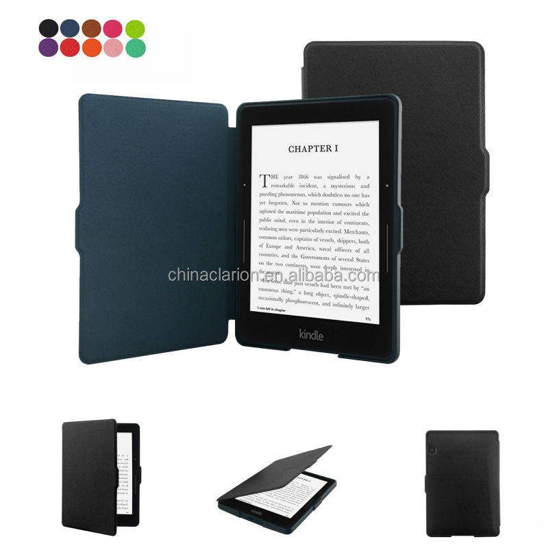 Portafoglio custodia in pelle pu per Kindle Fire HDX 7'' Amazon caso stare