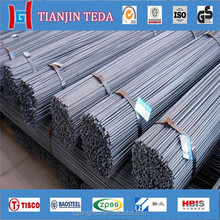 High quality bs4449 grade 500b reinforcing steel rebar with construction