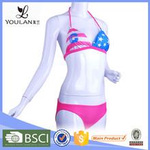 New Fashion Printing Nylon Sexy Bikini Beachwear