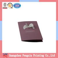 Tested Manufacturer Guangzhou Paper Folding Greeting Card