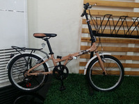 "20 "" POPILAR STEEL FRAME 7 SPEED FOLDING BIKE SWFB046"