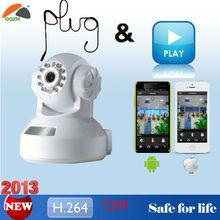 2014 Best Seller Wide Dynamic Range H.264 720P Megapixel Wireless IP Camera