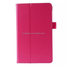 2015 hot name card leather case for Samsung GALAXY Tab S T700