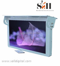 """19"""" lcd player car system multimedia with roof hanging"""
