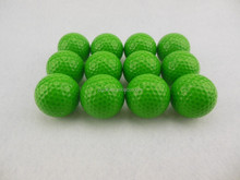Wholesale blank cheap blue colored golf ball