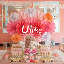 flower stage decoration paper honeycomb event tissue decoration dancing stage decorations