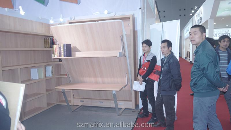 china lieferant klappm bel vertikale multifunktionale m bel alibaba exrpress m bel bett. Black Bedroom Furniture Sets. Home Design Ideas