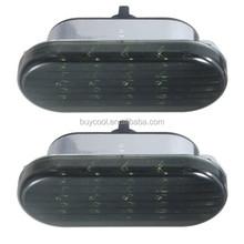 Amber LED Side Marker Turn Light Strobe Lights for VW Beetle Jetta Passat