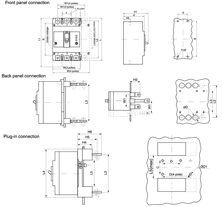Circuit Breaker Symbol Circuit Breaker Single
