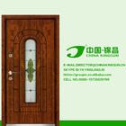 new design Estilo único apartamento interior interior de alta qualidade teca porta de madeira modelo