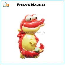 Cheap new coming beautiful resin figurines fridge magnet