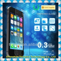 9H 2.5D tempered glass screen protector for iphone 5, iphone5C, Iphone5s