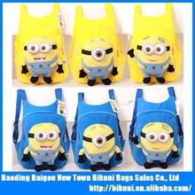 Despicable Me Minion 3D Plush School Backpack Bag