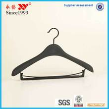 Telescopic stainless steel retractable curve Style and Garment Usage solid plastic seem the wooden velvet suit hangers