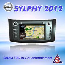 Central multimedia navigation for Nissan sylphy 2012