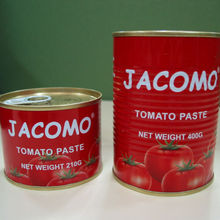 marque jacomo fabricants ketchup aux tomates