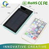 Waterproof slim ABS/PVC shell 12000mAh solar charger powerbank,solar powerbank