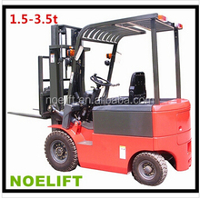 heavy duty 1500kg ac motor battery fork lifter with easy maintenance