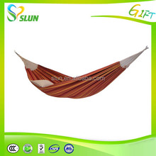 2015 Fashionable outdoor furniture rope polyester hammock
