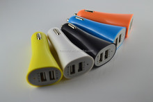 wholesale universal 12V dual USB 2 port mobile cell phone car charger