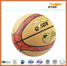 Mini PVC laminated indoor outdoor training basketballs