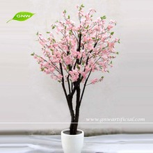 GNW BLS031 peach flower artificial plants and trees for home deocration