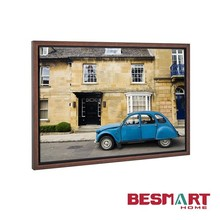 mordern canvas wall picture with vintage frame