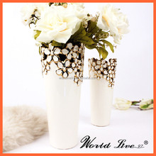 Home decoration small ceramic vase wholesale