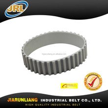 White PU open ended/Endless/round XL Timing belt