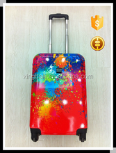 Made in China colorful ABS/PC luggage/ fashion Trolley Luggage bag