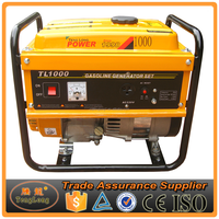 Mini Portable 4-Stroke Home Use 1KW Gas Power Generator For Sale