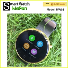 MaPan round smart watch MW02/ cheap hand watch mobile phone