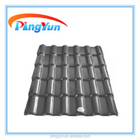 plastic grey roofing tile for home house for workshop