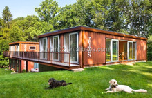 Luxury Shipping Container Houses for Coffee Shop and Holiday House