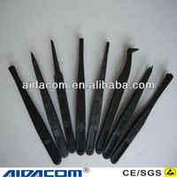 Plastic/Stainless steel ESD tweezers