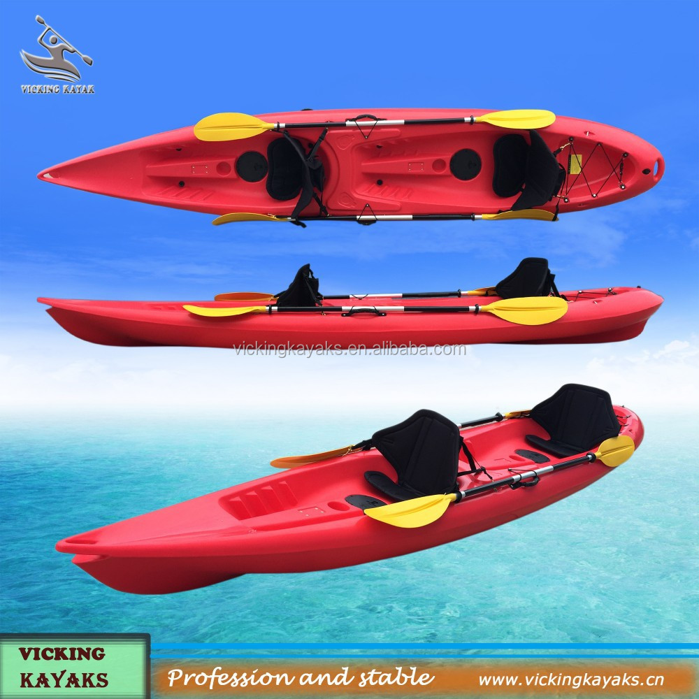 Double seats sit on top fishing kayaks for Double fishing kayak